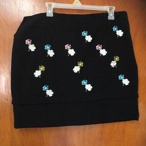 HD Paris Black Skirt